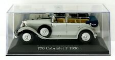 IXO Altaya 1:43 1930 Mercedes Benz 770 cabriolet F Grosser Mint in Case