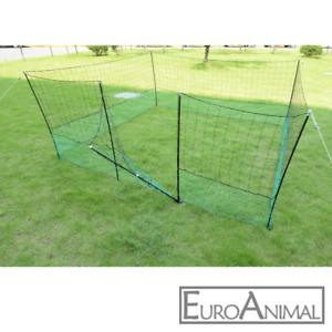 Geflügelnetz MIT TÜR; HÖHE 125cm Hühnerzaun Geflügelzaun Freilauf Zaun Hundezaun