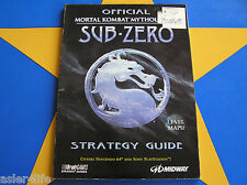 MORTAL KOMBAT MYTHOLOGIES SUB-ZERO - STRATEGY GUIDE