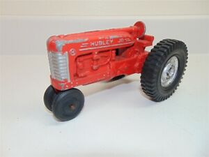 Vintage Hubley Jr. Toy Tractor-1960's Cast Metal-1:32? scale-Good Condition