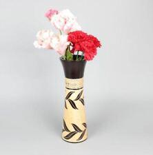 Handcrafted Wooden Dry Flower Vase
