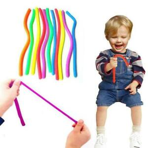 Elastic TPR Straight Pull Ropes Stretchable String Toy for Vent Relieve Toys Hot