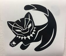 Black Panther Vinyl Decal Sticker | Marvel | Choose Size + Color