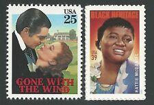 1939 Gone With the Wind Clark Gable Vivien Leigh Hattie McDaniel Stamps Set MINT