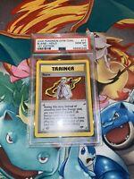 2000 Pokemon Gym Challenge Blaine 1st Edition Holo PSA 10 Gem Mint 17/132