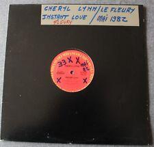 Cheryl Lynn, instant love, Maxi Vinyl