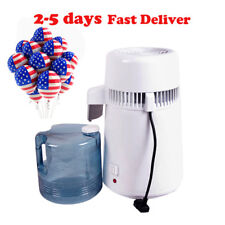 Dental/Medical 4L Water Distiller Pure Purifier Filter Stainless Steel Machine A