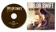 Taylor Swift Begin Again Numbered CD single