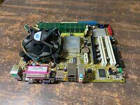 ASUS P5GC-MX/1333, LGA775 Socket, Intel Motherboard w/ CPU & 4GB Ram