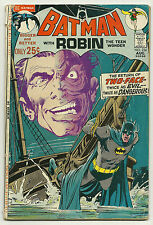 Batman 1971 #234 Very Good Two-Face