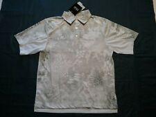 HUK Mens Kryptek Yeti Performance Fishing Gear S/Sleeve Polo Shirt Sz-Small NWT