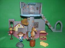 Mike The Knight _ Glendragon Castle con figuras y accesorios de juego _ _ en muy buena condición