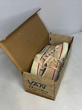 Vintage 60s Never Worn Van Doren Canvas Sneaker Super Rare Vans In Original Box!