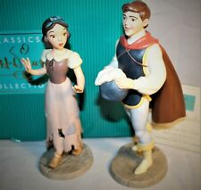 "WDCC DISNEY SNOW WHITE AND THE PRINCE ""I'M WISHING FOR THE ONE I LOVE"" SCULPTURE"