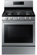 Samsung Natural Gas Range 5.8 Cu Ft Stainless Steel Free Standing Convection