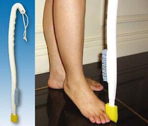 Long Handled Foot Wash - Toe Wash Sponge And Foot Brush - Disability Bathing Aid
