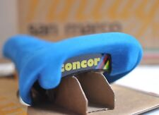 New Vintage Selle San Marco Concor Supercorsa blue leather saddle