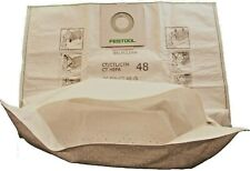 More details for festool 497539 reusable with zip filter bag for ct ctl ctm 48 bio bag option