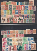 RUSSIA 1918-1923 Civil War, Selection of 97 Unused stamps