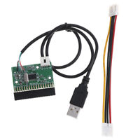 """1.44MB 3.5"""" floppy drive connector 34 PIN 34P to USB cable adapter PCB boar sl"""