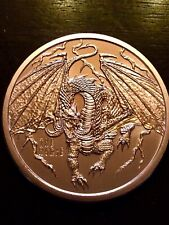 The Norse ,4th coin in the World of Dragons Series,  1 oz Copper Round