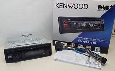 Kenwood KDC-DAB361U CD/MP3 auto estéreo DAB Digital Radio USB/AUX-in open-BOX#868