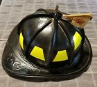 Vintage Cairns Brothers Leather Fire Helmet