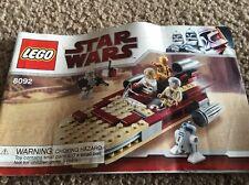 Lego 8092 Luke's Landspeeder Instructions Only