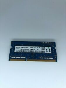 SK HYNIX MEMORY 4GB PC3L-12800S RAM HMT451S6DFR8A-PB - LOOK !