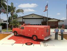 "Papercraft /""Fall Guy/"" T.V show 1983 GMC paper model pickup truck EZU-make"