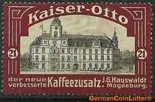 MAGDEBURG - Kaiser-Otto Kaffeezusatz, Abb. OLDENBURG - Grossh. Schloss (#25962)
