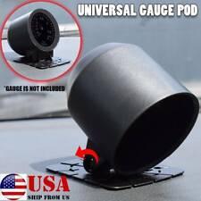 Universal 52mm 2 Single Hole Gauge Holder Pod Pillar Abs Turbo Boost Temp Press