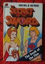 SHE-RA & HE-MAN Secret Of The Sword Ladybird H/B First Edition Book