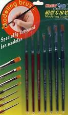 A tromba Set pennelli per Dettagli Superfici vernice Pennello asciutto