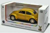 ROAD LEGENDS 24202 C or 24202 GD VW BEETLE model CAR Gold or Copper 1967 1:24th