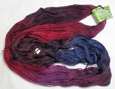 400 yds! 100g Mountain Colors Bearfoot Sw Wool & Mohair Sock Yarn - Chokecherry