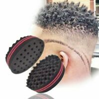 1x Wave Barber Hair Brush Sponge for Dreads Afro Locs Twist Curl Magic Tool