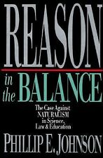 Phillip Johnson - Reason In The Balance (1995, Hardcover) NEW BOOK