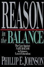Phillip Johnson - Reason In The Balance (1995, Hardcover) NEW BOOK