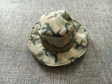 """Unbranded 1/6 Scale 12"""" Jungle Camo Boonie Hat Cap NHC-219 New"""