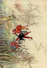 A4 Photo Goble Warwick Fairy Book 1913 Hop O My Thumb Print Poster