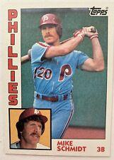 New listing 1984 Topps Mike Schmidt #700