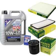 LIQUI MOLY 5L Motor-Öl+MANN-FILTER für Toyota Yaris SCP1_ NLP1_ NCP1_ 1.0