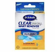 Dr. Scholl's Duragel Clear Away Common Warts Remover Removal