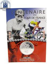France 0,25 euro argent 2003 stgl. tdf 100 ans tour de France en blister