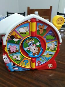 MATTEL LITTLE PEOPLE SEE ' N SAY FISHER PRICE  ANIMAL SOUND AND TUNES 2003