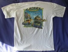 NEW Old Stock! 1994 Camel Powered Smokin' Joe Racing T-Shirt X-Large  BRIGHT
