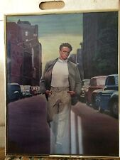 James Dean Color Framed Print From Movie Broadway Never Used Or Hung Up