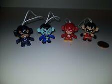 DC Justice League Twistheads Figure Bundle Lot, Kinder Surprise Egg,Flash,Robin