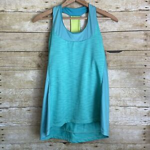 Moxie Cycling Turquoise T-Back Jersey - Size XXL - Built In Bra - Back Pockets